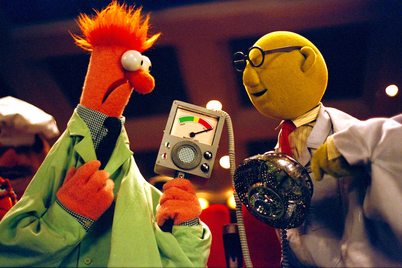 Beaker and Bunsen