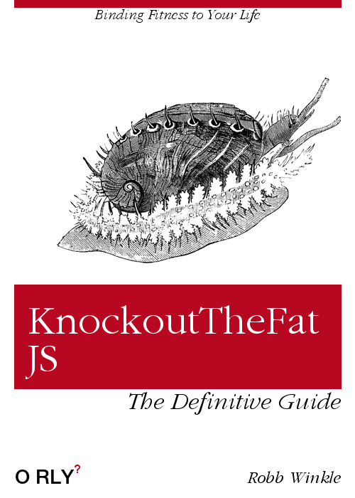 KnockoutTheFat.js O'Reilly Books